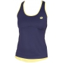 Lotto Women's Nixia Tank (Navy/ Yellow)