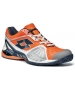Lotto Men's Raptor Ultra IV Tennis Shoes (Navy/ Orange) - Shoes