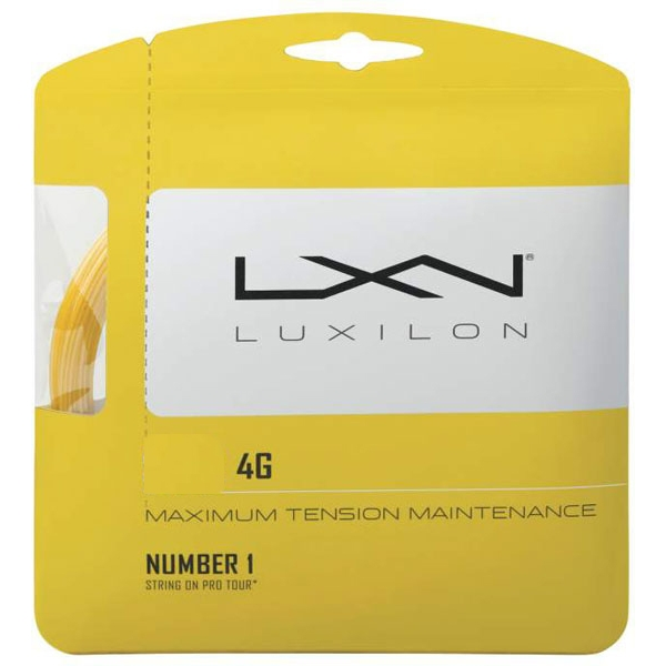 Luxilon 4G 130 17g Tennis String (Set)