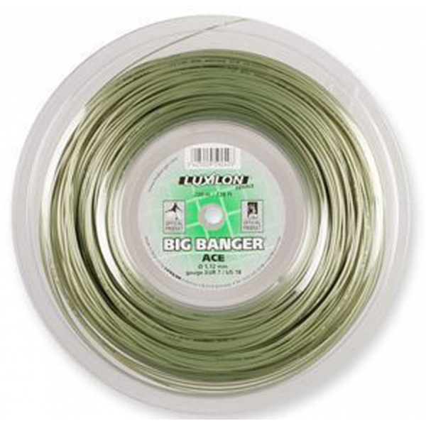 Luxilon Ace 112 18g Tennis String (Reel)