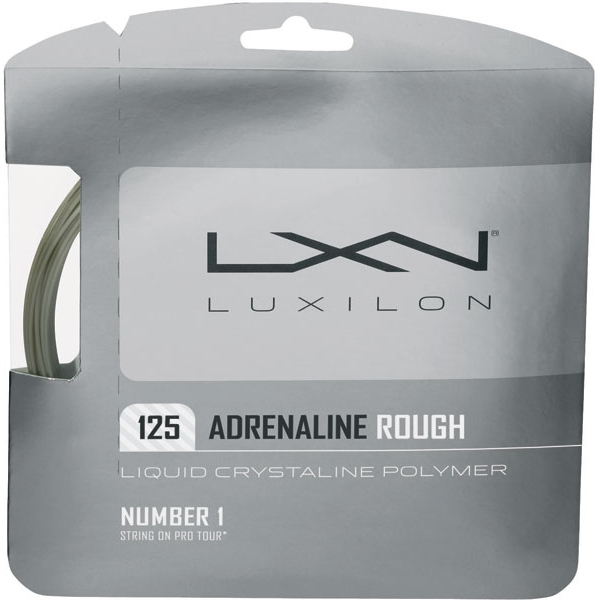 Luxilon Adrenaline 125 Rough 16g Tennis String (Set)