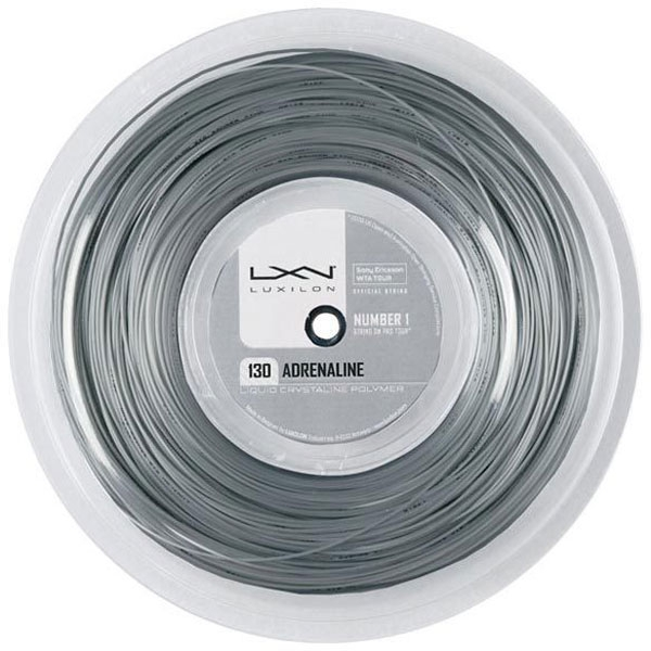 Luxilon Adrenaline 130 16g Tennis String (Reel)