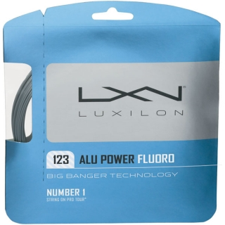 Luxilon ALU Power 123 Fluoro 17g Tennis String (Set)