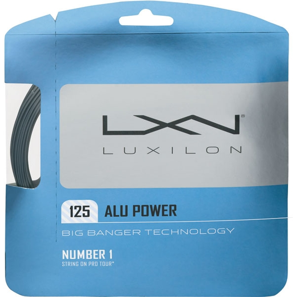 Luxilon ALU Power 125 16g Tennis String (Set)