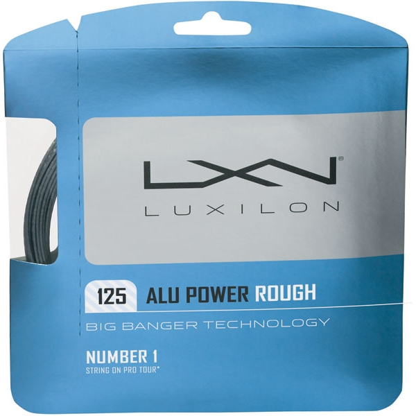 Luxilon ALU Power 125 Rough 16g Tennis String  (Set)