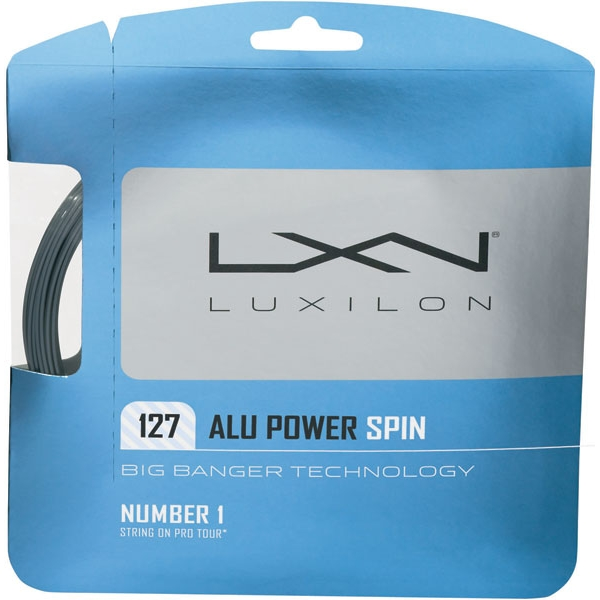 Luxilon ALU Power 127 Spin 16g Tennis String (Set)