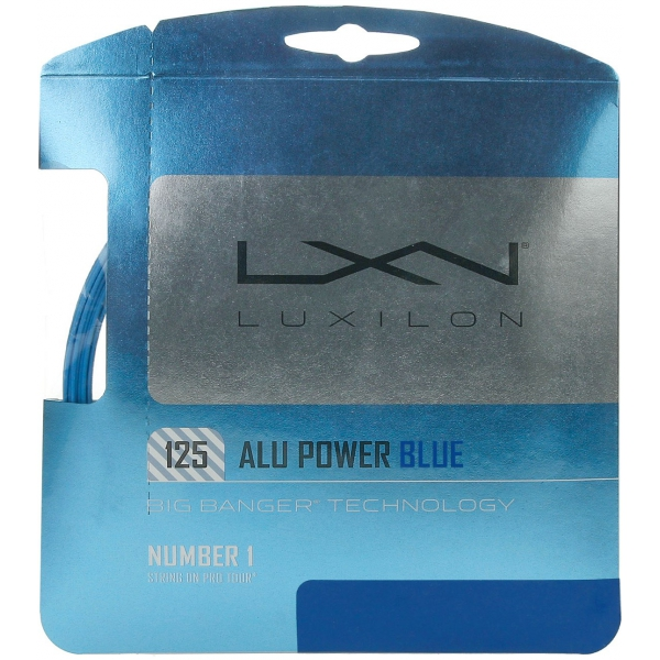 Luxilon ALU Power 125 16g Tennis String Set (Limited Edition Colors)