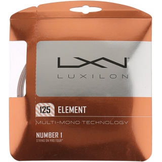 Luxilon Element 125 16L Tennis String (Set)