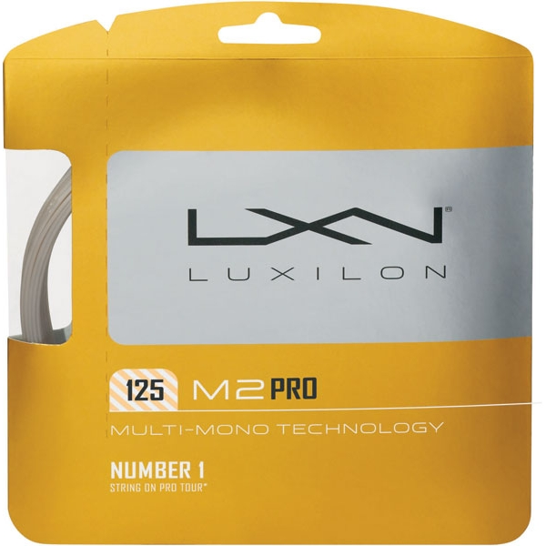 Luxilon M2 Pro 125 16g Tennis String (Set)