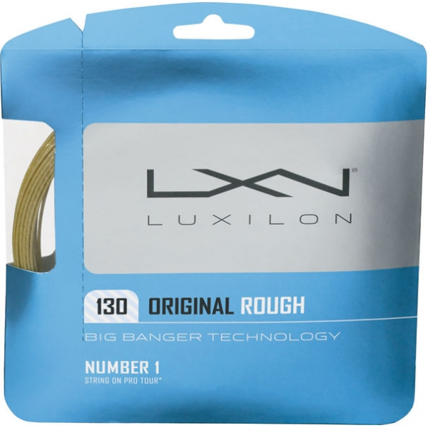 Luxilon Original 130 Rough 16g Tennis String (Set)