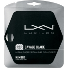 Luxilon Savage Black 127 16g (Set) - Luxilon Tennis String