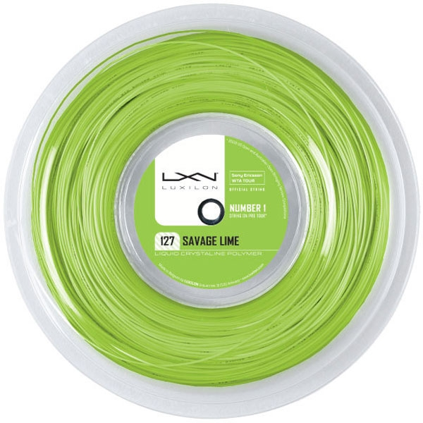 Luxilon Savage Lime 127 16g (Reel)