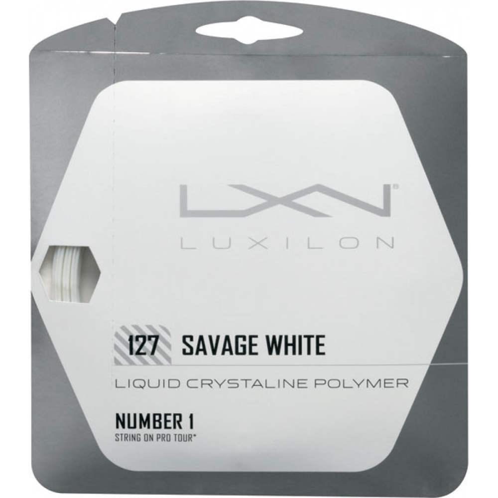 Luxilon Savage White 127 16g (Set)