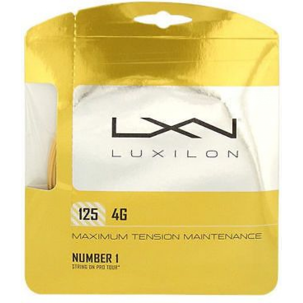 Luxilon 4G 125 16L Tennis String (Set)
