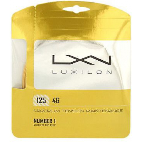 Luxilon 4G 125 16L Tennis String (Set)