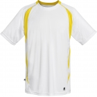 DUC Precise Men's Tennis Crew (Gold) - DUC Men's Tennis T-Shirts & Crew Necks