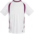 DUC Precise Men's Tennis Crew (Maroon) - DUC Men's Tennis T-Shirts & Crew Necks