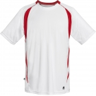 DUC Precise Men's Tennis Crew (Red) - DUC Men's Tennis T-Shirts & Crew Necks