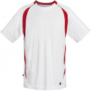 DUC Precise Men's Tennis Crew (Red)