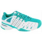 Adidas Barricade V Classic Womens Tennis Shoes (Teal/ White/ Silver) - New Tennis Shoes