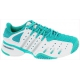 Adidas Barricade V Classic Womens Tennis Shoes (Teal/ White/ Silver) - Adidas Tennis Shoes