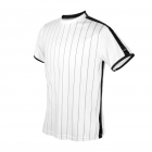 DUC Jailbird Men's Tennis Crew (White/Black) -
