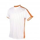 DUC Jailbird Men's Tennis Crew (White/Orange) -