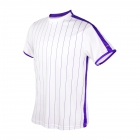 DUC Jailbird Men's Tennis Crew (White/Purple) -