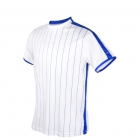 DUC Jailbird Men's Tennis Crew (White/Royal) -