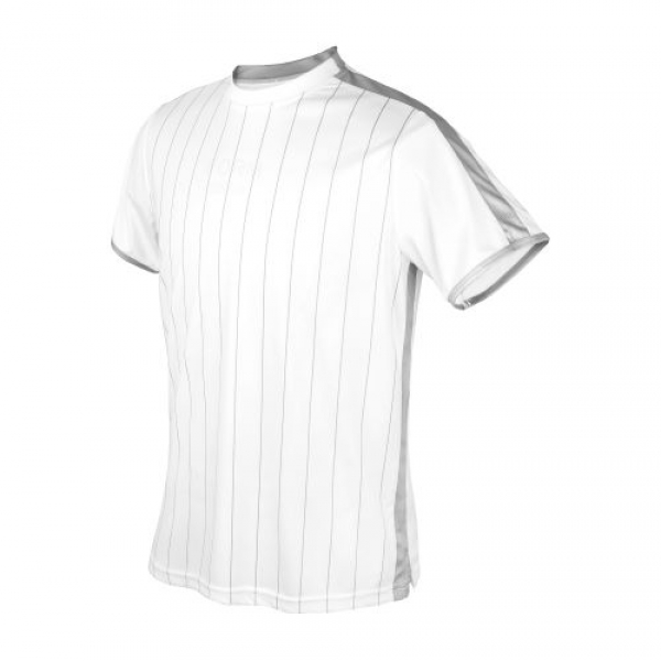 DUC Jailbird Men's Tennis Crew (White/Silver)