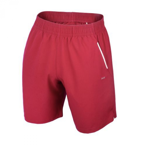 DUC Hunter Men's Tennis Shorts (Cardinal)