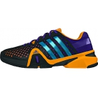 Adidas Men's Barricade 8+ Tennis Shoes (Blk/ Ylw/ Pur) - Men's Tennis Shoes