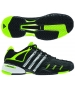 Adidas Barricade V Mens Tennis Shoes (Black/ Silver/ Lime) - Shoes