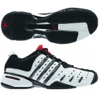 Adidas Barricade V Mens Tennis Shoes (White/ Silver/ Black) - Men's Tennis Shoes