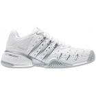 Adidas Women's Barricade V Tennis Shoes (White/Silver) - Adidas Barricade V Classic
