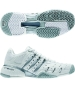 Adidas Barricade V Womens Tennis Shoes (White/Silver) - Adidas Barricade V Classic Tennis Shoes