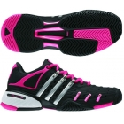 Adidas Barricade V Womens Tennis Shoes (Black/Silver/Pink) - Adidas Barricade V Classic Tennis Shoes