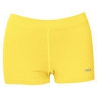 DUC Floater 2.5 Women's Compression Shorts (Gold) - DUC Women's Team Tennis Shorties