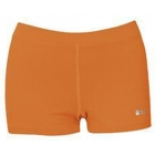 DUC Floater 2.5 Women's Compression Shorts (Orange) - Duc Sale Items Tennis Apparel