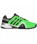 Adidas Men's Barricade 8+ Tennis Shoes (Grn/ Blk/ Gry) - Adidas Barricade Tennis Shoes
