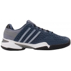 Adidas Men's Barricade 8+ Tennis Shoes (Blu/ Sil/ Blk) - Adidas Barricade Tennis Shoes