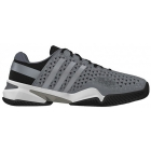 Adidas Men's Barricade 8+ Tennis Shoes (Gry/ Sil/ Blk) - Men's Tennis Shoes