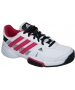 Adidas Barricade Team 3 Juniors Tennis Shoes (Wht/ Pnk/ Blk) - Tennis Shoes Sale