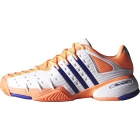 Adidas Women's Barricade V Classic Tennis Shoes (Peach/ White/ Navy) - How To Choose Tennis Shoes
