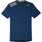 Adidas Men's ClimaChill Tee (Navy) - Men's Tops T-Shirts & Crew Necks Tennis Apparel