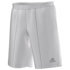 Adidas Men's Barricade Shorts (White/ Grey) - Adidas Tennis Apparel