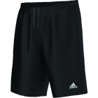 Adidas Men's Sequentials Essex Short (Black/ White) - Men's Shorts Tennis Apparel
