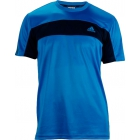 Adidas Mens Galaxy Tee (Blue/ Navy) - Men's Tops T-Shirts & Crew Necks Tennis Apparel