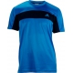 Adidas Mens Galaxy Tee (Blue/ Navy) - Adidas Men's Apparel Tennis Apparel