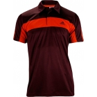 Adidas Mens Galaxy Tee (Red/ Maroon) - Men's Tops T-Shirts & Crew Necks Tennis Apparel